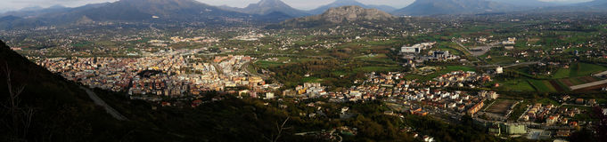Cassino city Stock Photography