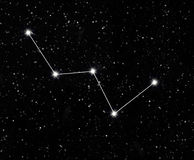 Cassiopeia de constellation Photographie stock