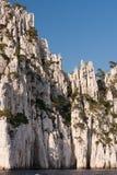 Cassis小河,法国 免版税库存图片