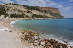 Cassis beach Royalty Free Stock Photo