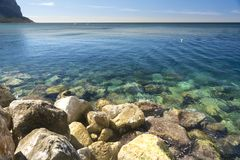 Cassis beach Stock Photography