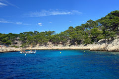 Cassis calanque Royalty Free Stock Photography