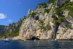 Cassis calanque, France Stock Images