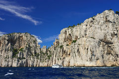 Cassis calanque, France Royalty Free Stock Images
