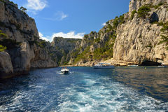 Cassis calanque Stock Photography