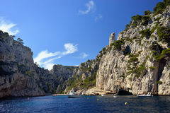 Cassis calanque Royalty Free Stock Photo