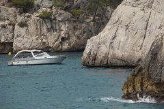 Cassis calanques near marseile Royalty Free Stock Photo