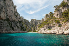 Cassis calanques Stock Image