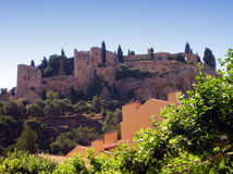 Cassis castle - France Stock Photography