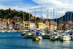 Cassis city in France Royalty Free Stock Image