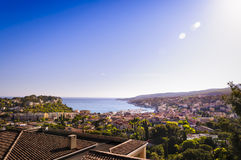 Cassis city during a sunny day, France. Cassis city during a sunny day in France Stock Photography