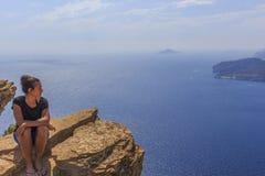Cassis ed il Cote d'Azur Fotografia Stock