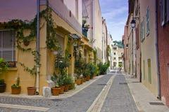 Cassis, Frankreich stockbild
