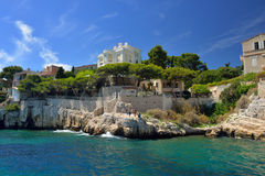 Cassis, French riviera Stock Photos