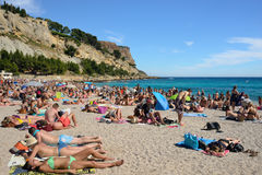 Cassis, French riviera Stock Photography