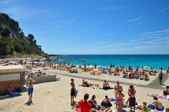 Cassis, French riviera Stock Image