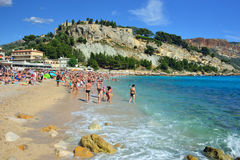 Cassis, French riviera Stock Images