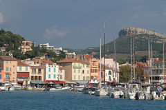 Cassis Harbor Stock Photography
