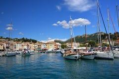 Cassis, la Côte d'Azur Images stock