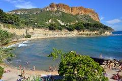 Cassis, la Côte d'Azur Photos libres de droits
