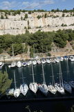 Cassis port in Provence Stock Photo