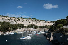 Cassis port in Provence Royalty Free Stock Photography