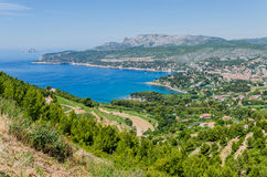Cassis in Provence, France Royalty Free Stock Photo