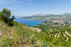 Cassis in Provence, France Royalty Free Stock Image