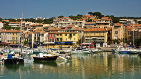 Cassis Reflections Royalty Free Stock Photos