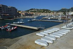 Cassis - Provence stock photography