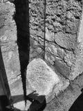 Casso - pietra dal corpo della frana Immagini Stock
