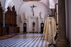 Cassock of priest Royalty Free Stock Photography