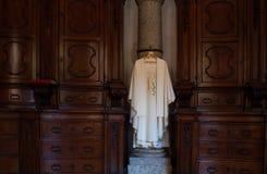 Cassock of priest Stock Photo