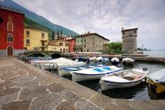Cassone di Malcesine Lake Garda in Italy Royalty Free Stock Image
