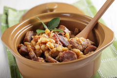 Cassoulet Stock Photo