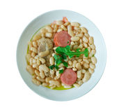 Cassoulet pur porc. /Traditional French cuisine Stock Photos