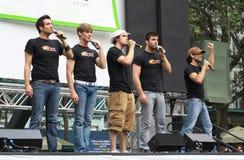The cast of Altar Boyz Stock Photos