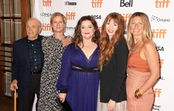 """Crew from""""Can you Ever Forgive me"""" at Toronto International Film Festival 2018. """"Can You Ever Forgive Me"""" premiere at #TIFF18. Including Royalty Free Stock Images"""