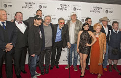 Cast and Crew of `Dog Years` Gather at 2017 Tribeca Film Festival Royalty Free Stock Images
