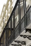 Cast-iron balconies, Brighton Stock Image