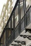 Cast-iron balconies, Brighton Stock Image