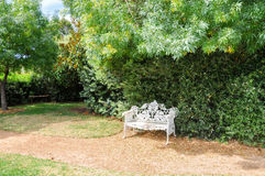 Cast Iron Bench: Amaze'n Margaret River stock photos