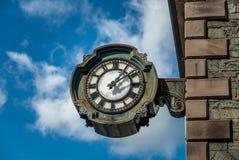 Cast Iron Clock Royalty Free Stock Photos