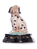 Cast iron dalmatian door stop Stock Photo