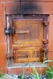 Cast iron door Royalty Free Stock Image