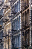Cast Iron Facades in Soho, Manhattan, New York Cit Stock Photography