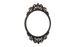 Cast iron frame Stock Image