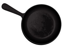 Cast-iron frying pan Royalty Free Stock Photography