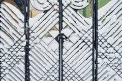 Cast iron gate Royalty Free Stock Photos