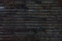 Cast iron grill black steel texture Stock Image